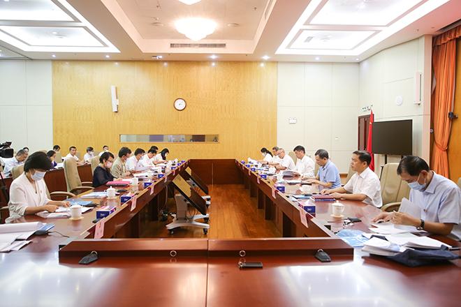 深圳市、区政协提案工作联系会2021年第一次会议在盐田区举办